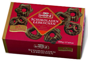 Lambertz Schokoladen Lebkuchen Zartbitter (500g)