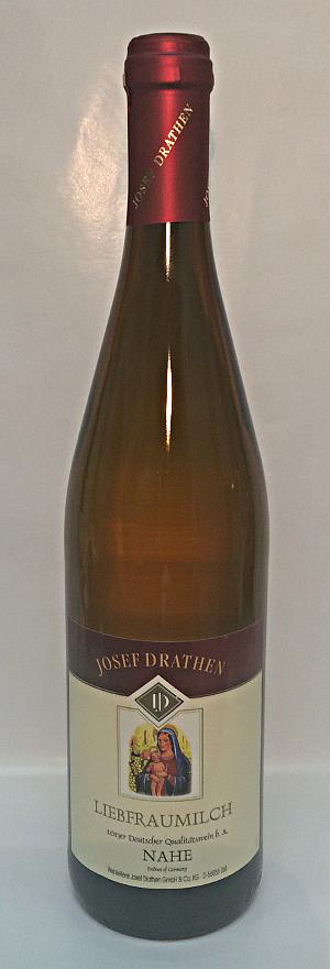 J Drathen Liebfraumilch QbA 2013 - 8,8% Alk