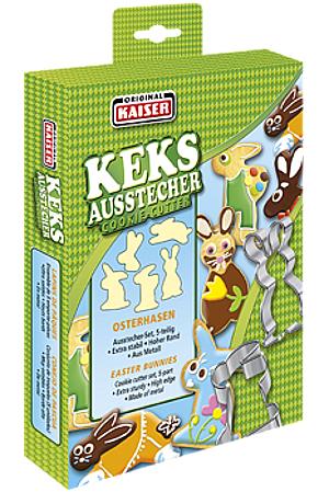 Kaiser Ausstecher Osterhasen (5er)