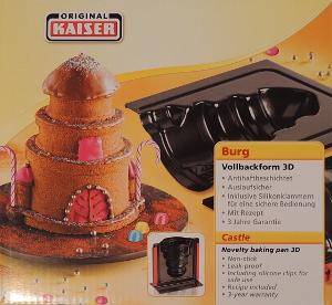 Original Kaiser 3D Backform Burg