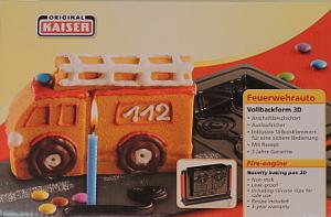Original Kaiser 3D Backform Feuerwehr
