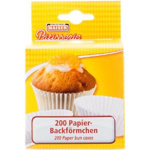 7- Kaiser Papier Backförmchen 200 Stck
