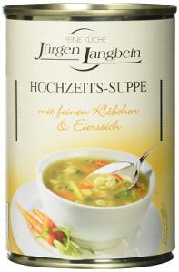 J.L. Hochzeits-Suppe (400ml)