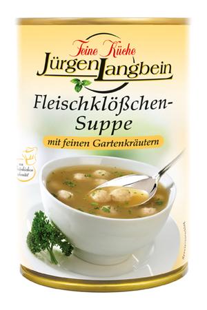 Jürgen Langbein Fleischklösschen-Suppe 400ml