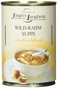 J.L. Wild-Rahm-Suppe. (400ml)