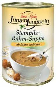 Jürgen Langbein Steinpilz-Rahm-Suppe 400ml