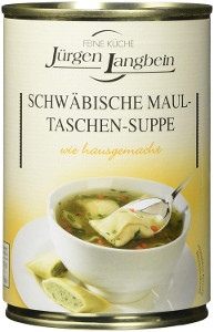 Jürgen Langbein Schwäbische Maultaschensuppe 400ml