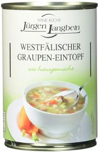 Jürgen Langbein Westfälische Graupen-Eintopf 400g