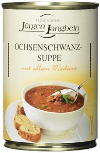 J.L. Ochsenschwanz-Suppe. (400ml)