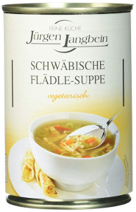 J.L. Schwäbische Flädle-Suppe. (400ml)