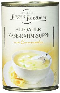 Jürgen Langbein Allgäuer Käse-Rahmsuppe 400ml