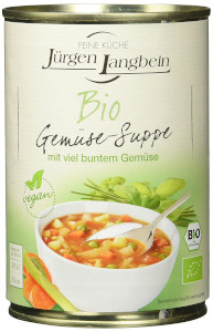 Jürgen Langbein BIO Gemüsesuppe 400ml
