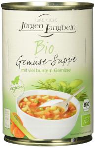 J. L. BIO Gemüsesuppe 400ml