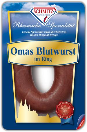 Schmitz Omas Blutwurst im Ring 300g