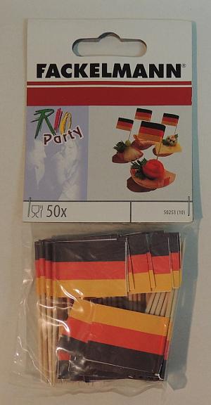 Fackelmann 50 Fahnepicker Deutschland