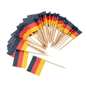 1- Fackelmann Fahnepicker Deutschland 50 stück