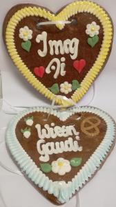 Brauner Lebkuchen mit Zuckerdekor 240g