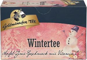1- Goldmännchen-Tee Wintertee 50g für 20 Filterbeutel à 2,5g