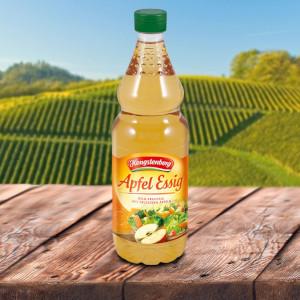 3- Hengstenberg Apfel Essig mild-fruchtig 750ml