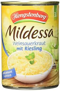 Hengstenberg Mildessa Weinsauerkraut mit Riesling 400g