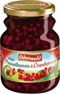 2- Odenwald Wildpreiselbeeren & Cranberries 400g