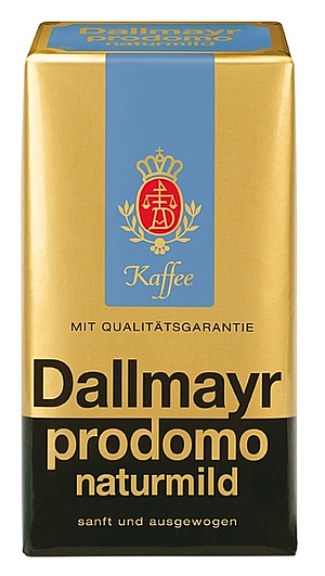 1- Dallmayer prodomo naturmild Kaffeepulver 500g