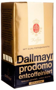 Dallmayr Kaffee Prodomo Entcoffeiniert 500g