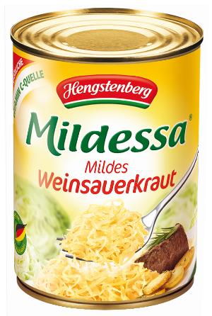 Hengstenberg Mildessa Weinsauerkraut (550g)