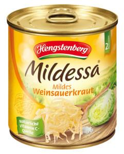 Hengstenberg Mildessa Weinsauerkraut , mild (300g)