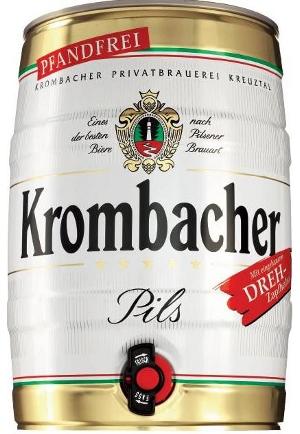 Krombacher (Fass 5L)