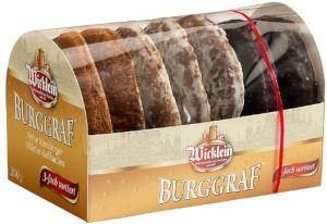 Wicklein Feine Nürnberger Burggraf Oblaten-Lebkuchen 3-fach sortie
