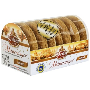Wicklein Meistersinger Oblaten-Lebkuchen - naturell  - 200g