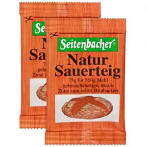 Seitenbacher Natur Sauerteig 2x75g