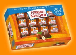 Ferrero Küsschen 284g für 32 Stück