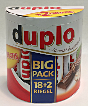 Ferrero Duplo Big Pack (18 Stck + 2)