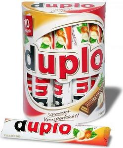 Ferrero Duplo 182g für 10 Stück