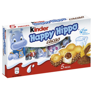 Kinder Happy Hippo Cacao 5 Riegel à 20,7g