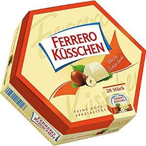 Ferrero Küsschen weisse Schokolade 178g für 20 Stück