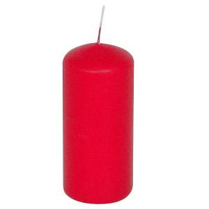 Gala Kerzen Stumpen 5 x 10cm Rot für 2er