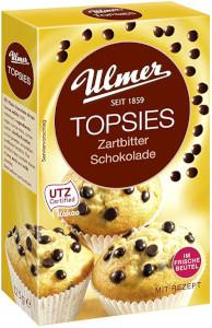 Ulmer Topsies Zartbitter-Schokolade 125g