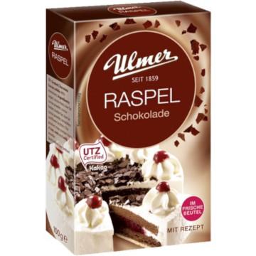 Ulmer Raspel Schokolade 100g