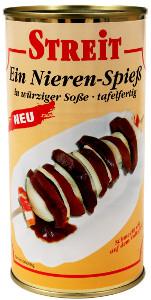 Streit Nieren-Spiess (Eine würzig-pikante Spezialität) 500g