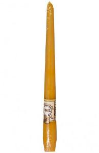 Steinhart Leuchterkerze 100% Bienenwachs 230 x 21mm für 7h