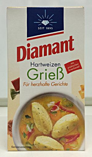 Diamant Hartweizen Griess (500g)