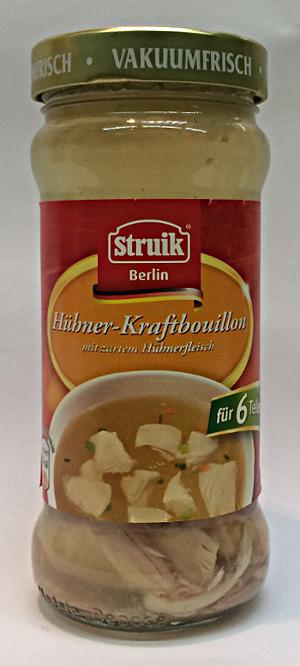 Struik Berlin: Hühner-Kraftbouillon (6 Teller)