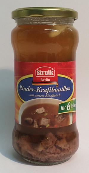 Struik Berlin Rinderkraftbouillon für 6 Teller (340ml)
