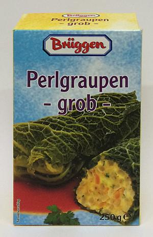 Brüggen Perlgraupen Grob (250g.)