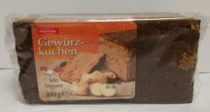 Stieffenhofer Gewürz-Kuchen Mit Ingwer 350g