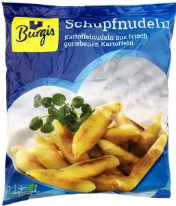 Burgis Kartoffel Schupfnudeln 500g