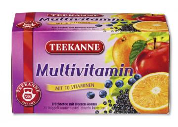 Teekanne Multivitamin (Mit 10 Vitaminen) 60g für 20er x 3g
